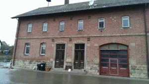 Das Rathaus Markbronn im aktuellen Zustand Mai 2016